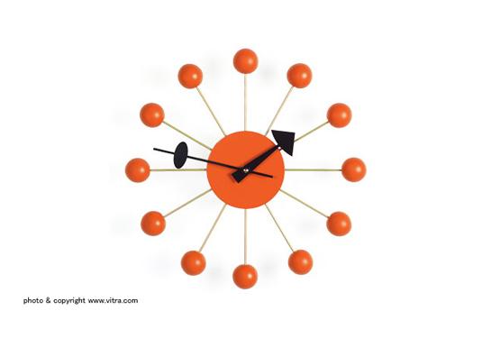 ball-clock-orange